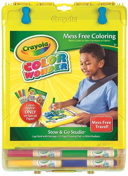Color Wonder Stow And Go Studio Crayola Com Au