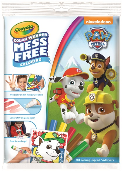 Color Wonder Paw Patrol