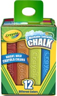 12 Washable Sidewalk Chalk Sticks
