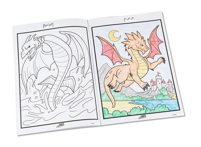 Color Alive Mythical Creatures Crayola Com Au Color Alive Pages