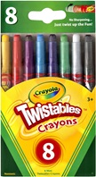 8 Mini Twistables Crayons
