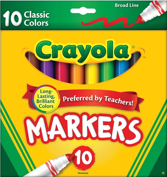 10 markers
