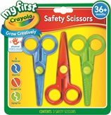 My First 3 Safety Scissors