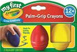 3 Egg Shaped Crayons