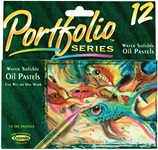 12 Water Soluble Oil Pastels