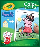 Color and sticker Peppa