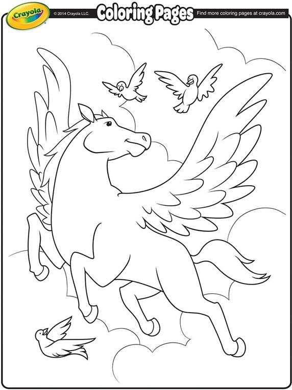 Pegasus   crayola.com.au