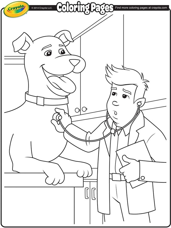 doctor coloring pages printable - doctor
