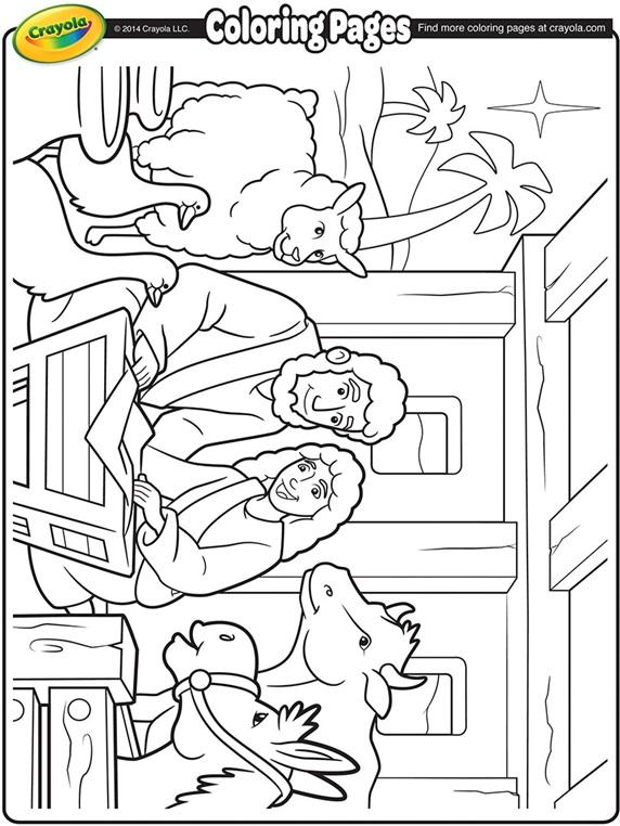 Nativity Manger Crayola Com Au