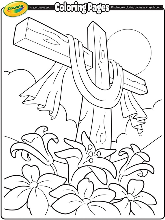 spring coloring pages crayola crayons - photo#11